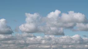 timelapse inchado da nuvem 6K video estoque