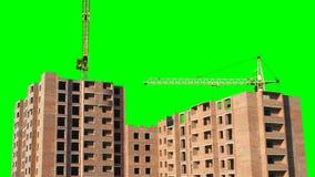 Timelapse of inhabitable house stock footage
