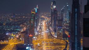 Timelapse, Japanese Megapolis, Life by Night stock video footage