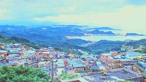 Timelapse Jiufen, Tajwan zbiory wideo