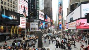 timelapse 4K UltraHD des Times Square, Manhattan stock video