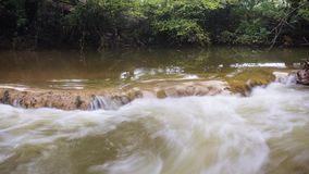 Timelapse of La Bresque, a little river in the south of France stock footage