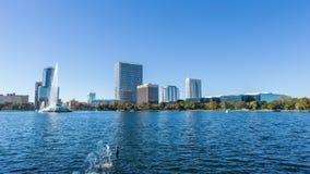 Timelapse: Lago Eola, Orlando, Florida, U.S.A. stock footage