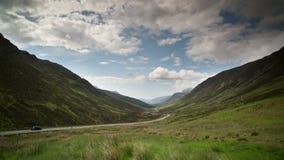 Timelapse loch maree w Scotland zdjęcie wideo