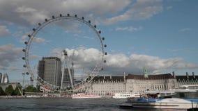 Timelapse Londyński oko zbiory wideo