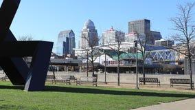 Timelapse Louisville blisko nadbrzeża rzeki 4K zbiory wideo