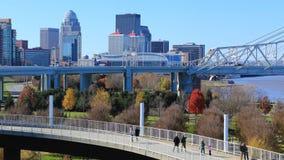 Timelapse Louisville, Kentucky i zwyczajny przejście 4K, zbiory