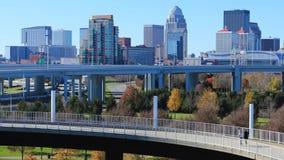 Timelapse Louisville, Kentucky z zwyczajnym przejściem 4K zbiory wideo