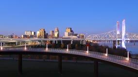 Timelapse Louisville przy brzaskiem 4K zbiory