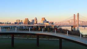 Timelapse Louisville przy zmrokiem 4K zbiory