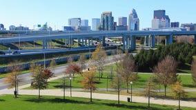 Timelapse Louisville z ruchliwie ruchem drogowym 4K zdjęcie wideo