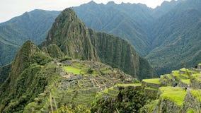 Timelapse Machu Pichu Peru Wonders of the World. Timelapse Machu Pichu Peru one of the Wonders of the World stock footage
