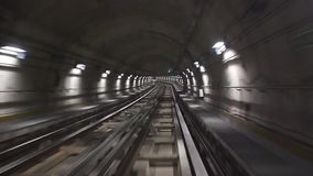 Timelapse of a Metro in Turin. Video of Timelapse of a Metro in Turin stock video footage