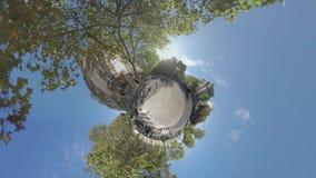 Timelapse miasto w stylu mała planeta zbiory wideo