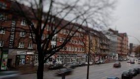 Timelapse motion video in Germany, Berlin in Europe stock footage
