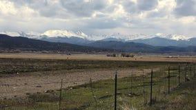 (Timelapse) Mountain Rancher Scene stock video footage