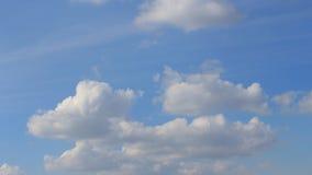 Timelapse - nuages banque de vidéos