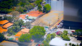 Timelapse Obarrio Panama 2. Timelapse in Obarrio Panama, a business center area stock footage