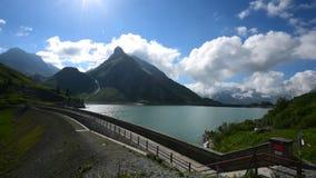 Timelapse op een zonnige dag in Oostenrijk stock footage