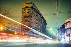 Timelapse Photo of Traffic Royalty Free Stock Image