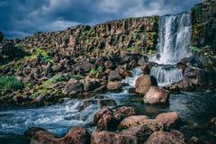Timelapse Photo of Waterfalls Royalty Free Stock Image