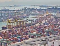 Timelapse port Singapur, 4K zdjęcie wideo