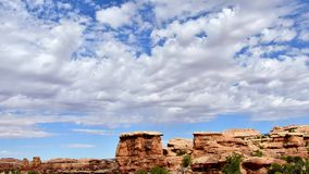 TimeLapse przy Canyonlands zbiory wideo