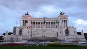 Timelapse Rom, Italien stock video