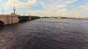Timelapse Russia St. Petersburg canals and river ships summer. Timelapse Russia St. Petersburg canals river ships summer stock video footage