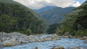 Timelapse rzeka na Trekking Mach Pichu zdjęcie wideo