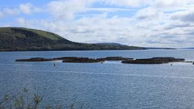 Timelapse Salmon фермы в Digby, Новой Шотландии 4K сток-видео