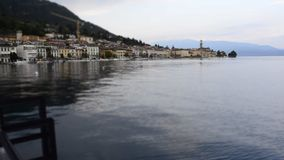 Timelapse at Salo, Lake Garda, Italy stock footage