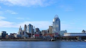 Timelapse skyline 4K do Cincinnati, Ohio