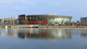 Timelapse Stockton arena w Stockton, Kalifornia 4K zbiory