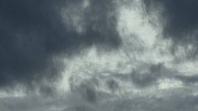 Timelapse of a storm cloud stock video footage