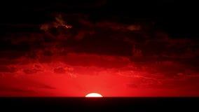 Timelapse sunset on the sea. Crimea, Ukraine stock video footage
