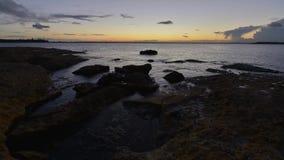 Timelapse Sydney seascape. stock video