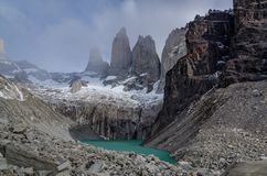 Timelapse Torres Del Paine stock video footage