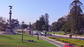 Timelapse traffic - Buenos Aires Argentina Stock Image