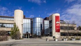 Timelapse, università di Calgary stock footage