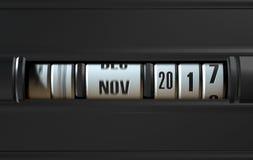 Timelapse vägmätarebegrepp Arkivfoton