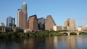 Timelapse van de Austin-horizon stock video