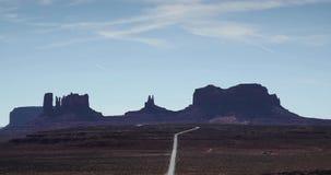Timelapse van de woestijn en de canions in Utah stock footage