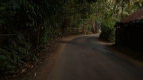 Timelapse van het dorp stock videobeelden