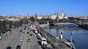 Timelapse van Moskou stock video