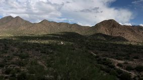 Ideo footage of McDowell Sonoran Trail,Scottsdale,Arizona. Timelapse video footage of McDowell Sonoran Trail,Scottsdale,Arizona stock video