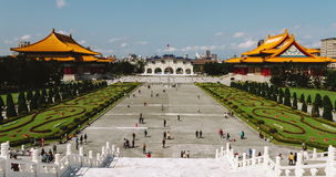 Timelapse View Of Taipei Liberation Square In The Daytime. 4K stock video footage