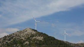 TimeLapse von Windkraftanlagen, die Türkei, die Türkei stock footage