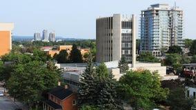 Timelapse w centrum Burlington, Kanada 4K zdjęcie wideo