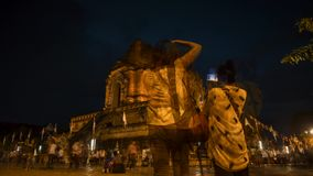 Timelapse Wat Chedi Luang archivi video